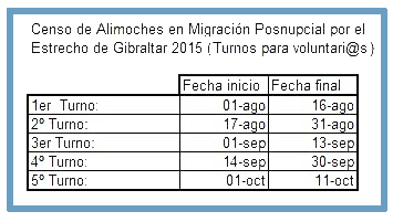 Censo de alimoche en migración postnupcial con el Colectivo Ornitológico Cigüeña Negra