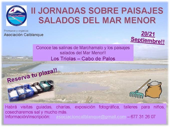 II Jornadas sobre Paisajes Salados del Mar Menor