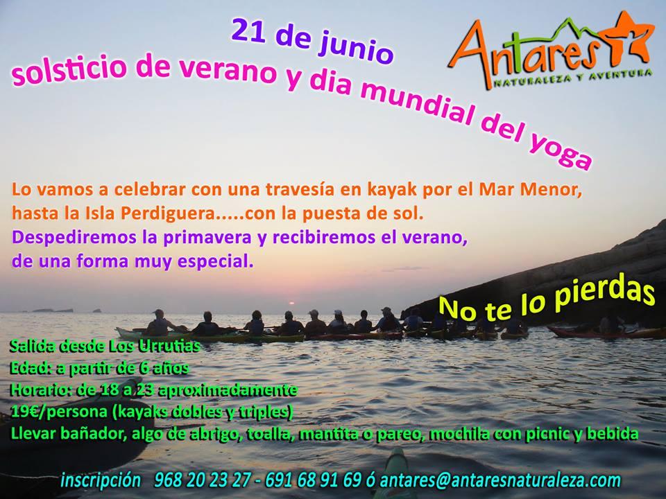 Isla Perdiguera en kayak con Antares Naturaleza y Aventura