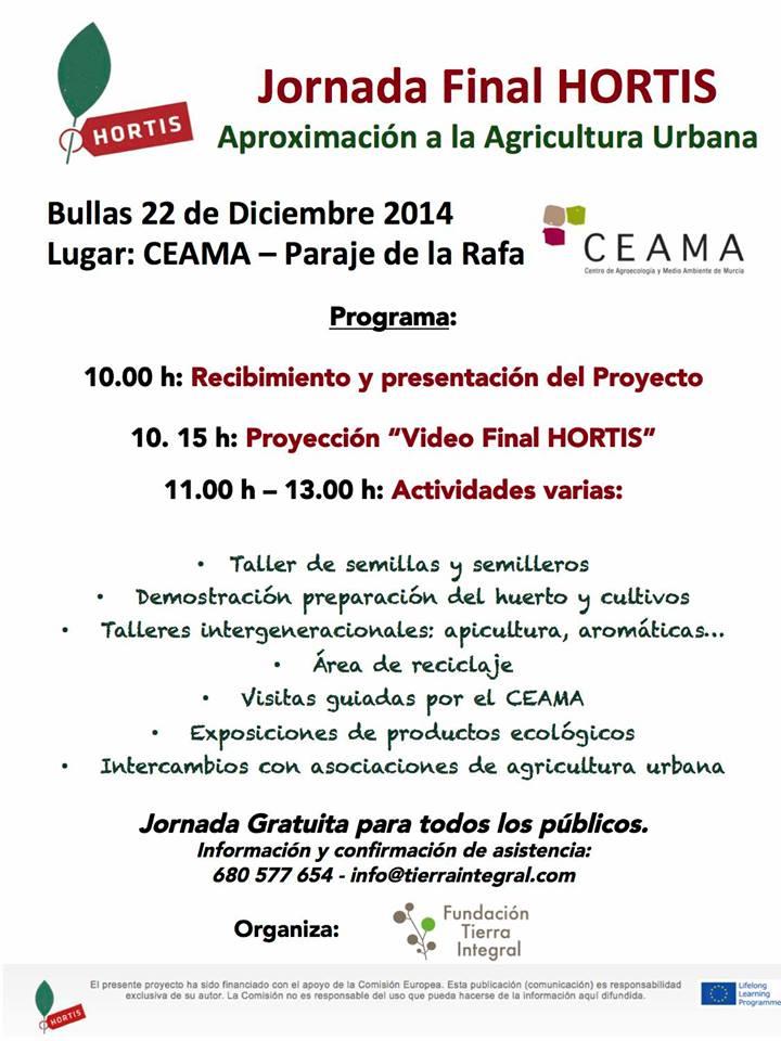 Jornada de Aproximación a la agricultura urbana en Bullas