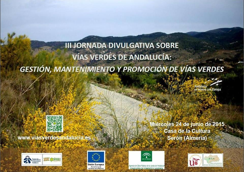 Jornada sobre las vías verdes de Andalucía