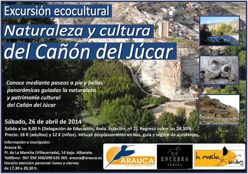 Excursión ecocultural al Cañón del Júcar