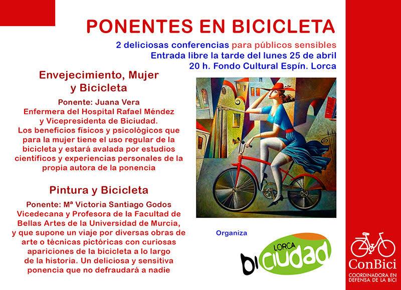 I Jornada 'Ponencias en Bicicleta' con LorcaBiciudad