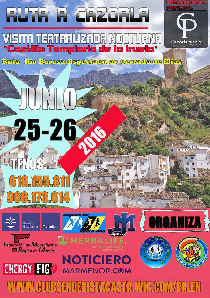 Senderismo al Parque Natural de Cazorla, Segura y Las Villas, con el Club Senderista Casta