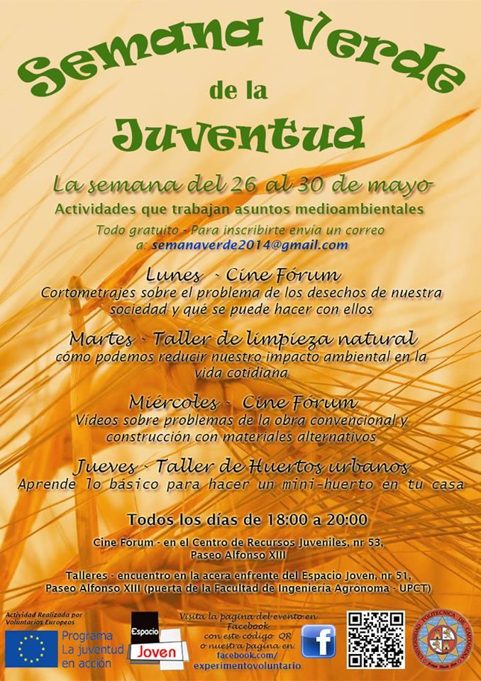 Semana Verde de la Juventud en Cartagena