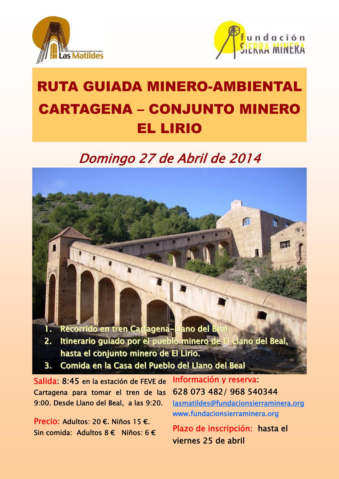 Ruta guiada al Conjunto Minero El Lirio