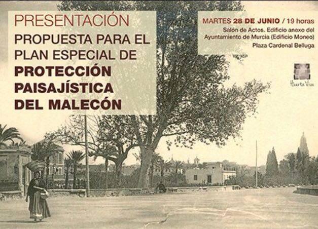 Propuesta de Plan Especial de Protección Paisajística del Malecón