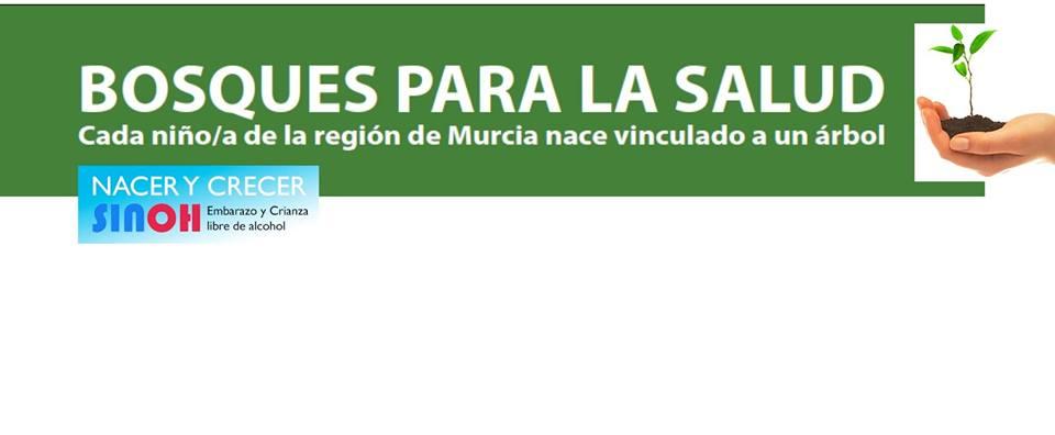 1ª Repoblación Forestal 'Bosque para la Salud', vinculada a la Maternidad del Hospital La Arrixaca.