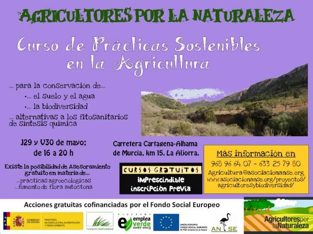 Curso de Prácticas Sostenibles en La Aljorra, con ANSE