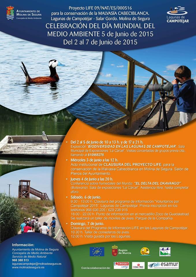 Programa del Día del Medio Ambiente de Molina de Segura