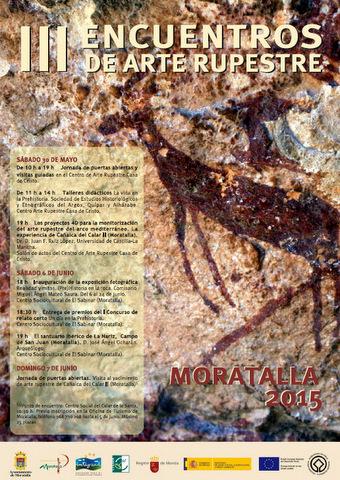 III Encuentros de Arte Rupestre de Moratalla. Programa