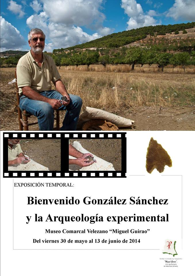 Exposición de materiales de arqueología en Vélez Rubio