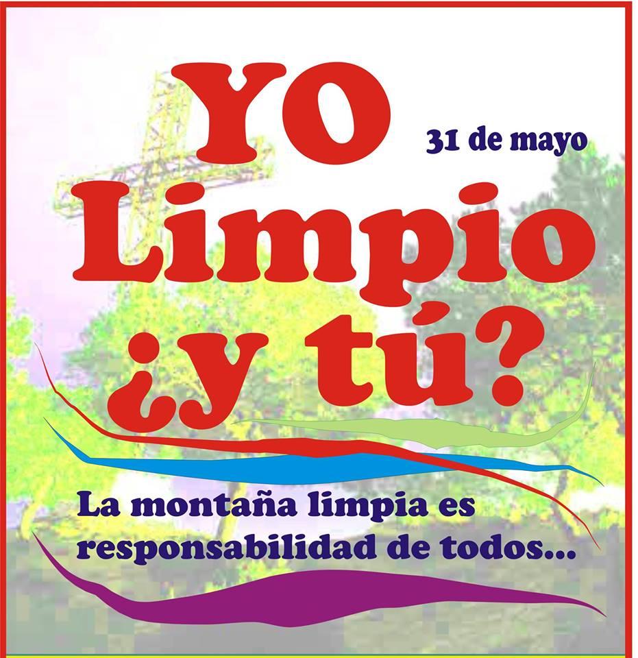Cartel sobre la limpieza de la Sierra de Orihuela