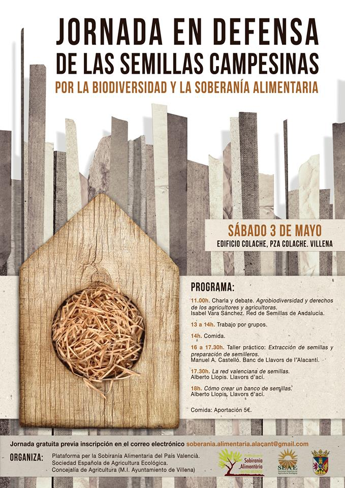 Jornada por las semillas campesinas en Villena