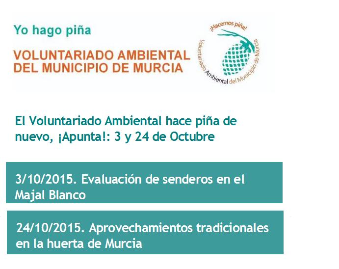 Conservación de un sendero y una charca para anfibios con el Ayto. de Murcia