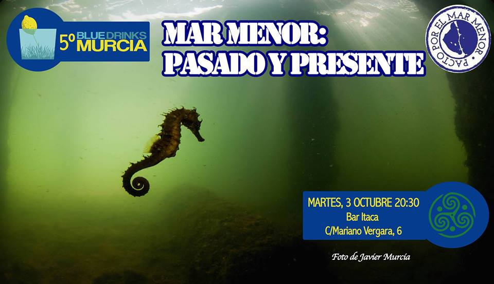 Charla sobre el mar Menor, con Blue Drinks Murcia