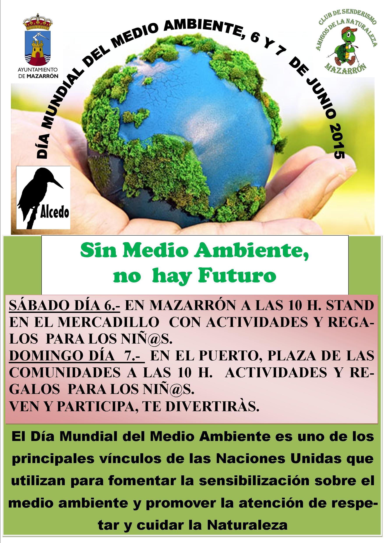 Stand del Día Mundial del Medio Ambiente en Mazarrón