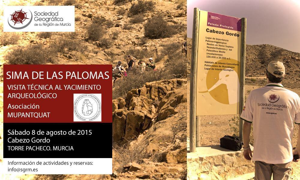 Visita técnica a la Sima de las Palomas con la SGRM