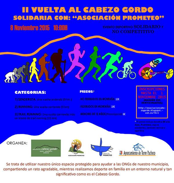 II Vuelta Solidaria al Cabezo Gordo