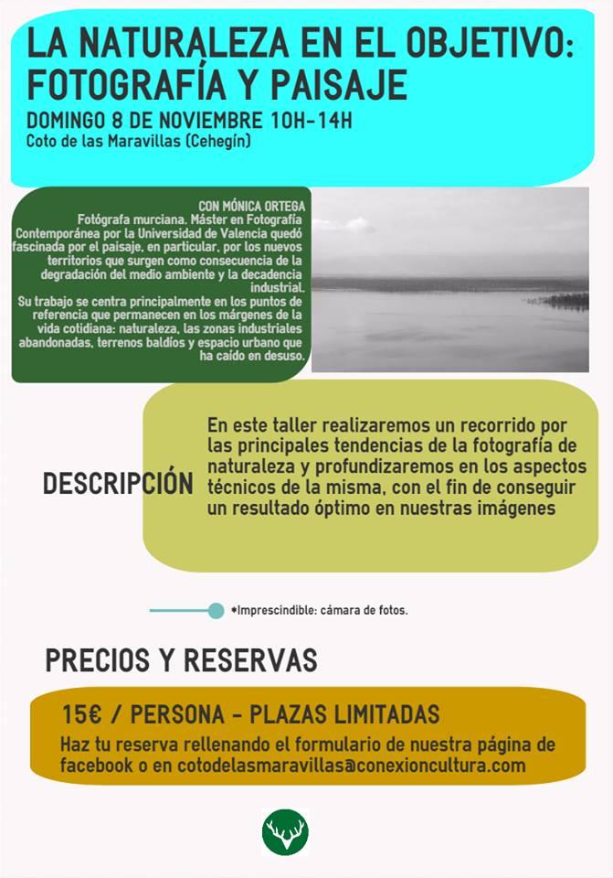 Curso sobre fotografía y paisaje con Mónica Ortega