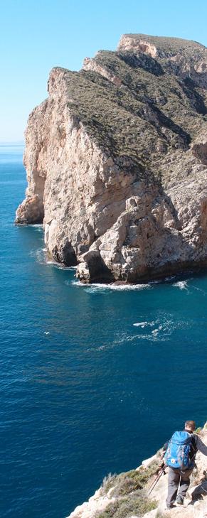 Ruta senderista paisajística de la costa murciana con AMNI
