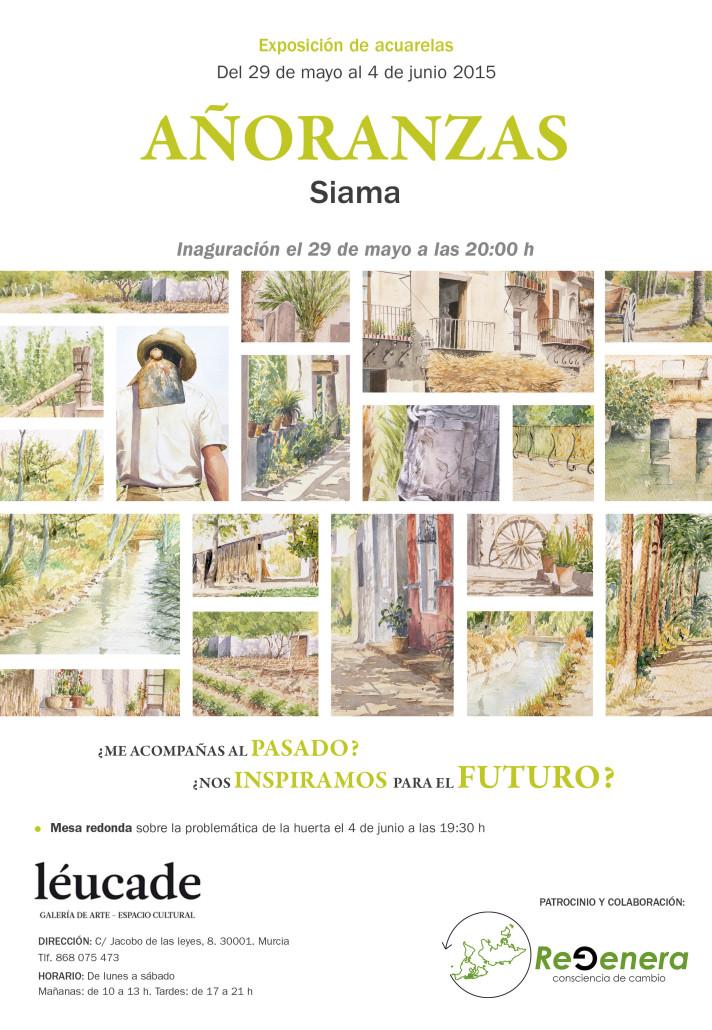 Exposición de acuarelas sobre la Huerta de José Miguel Masiá (Siama)