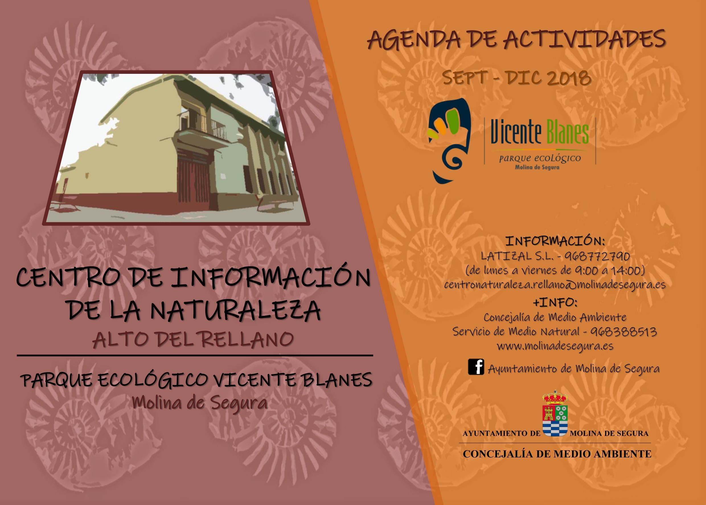 Datos del Centro de Información del Rellano, con el Ayto. de Molina de Segura