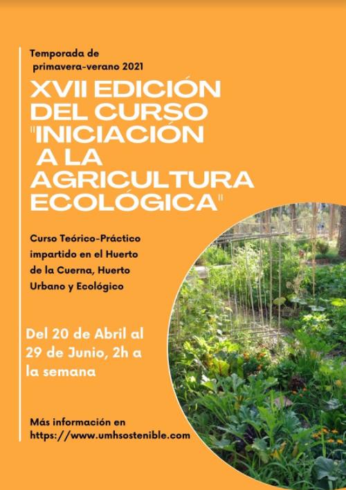 Iniciación a la Agricultura Ecológica, con la UMH