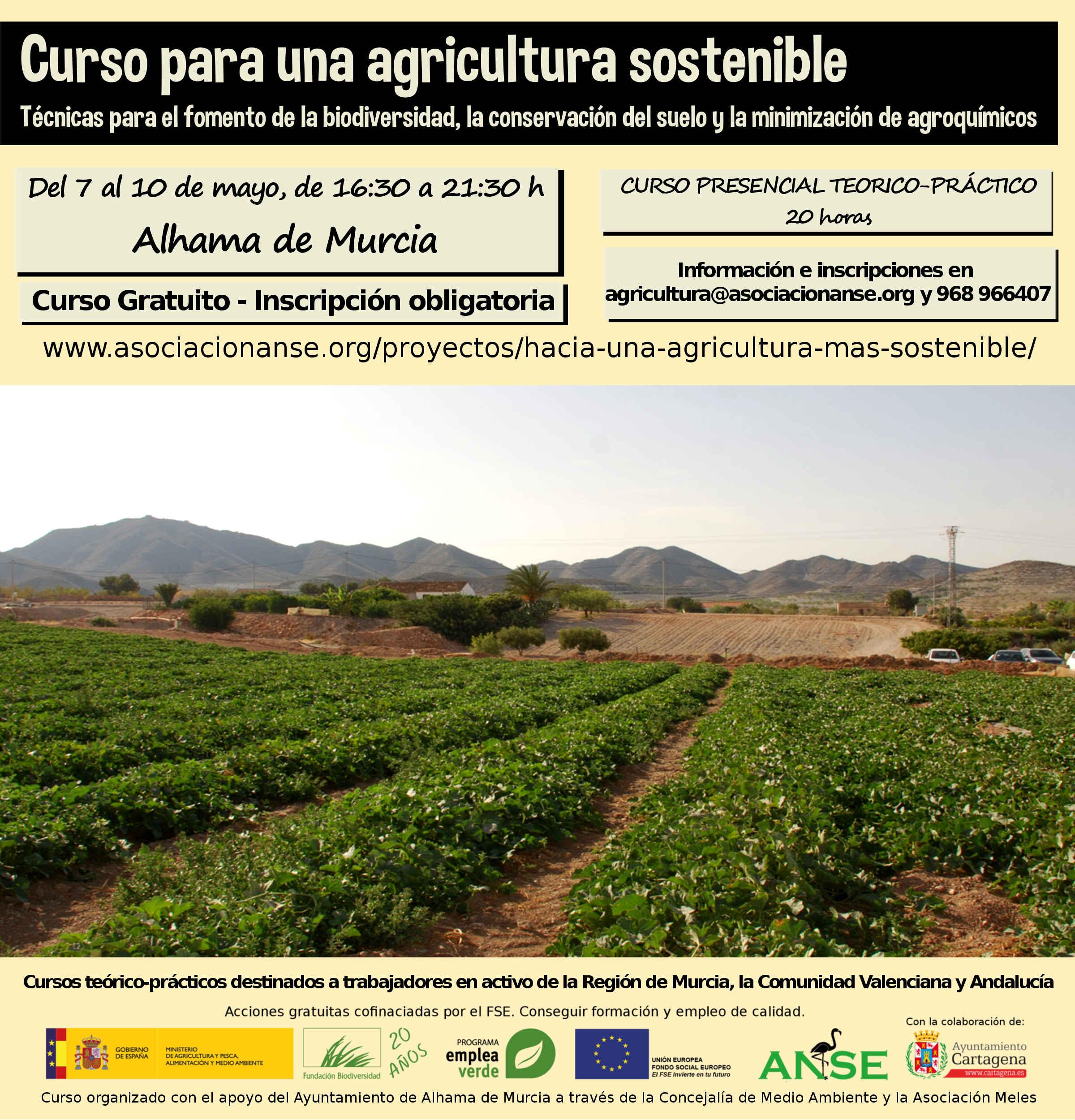 Curso para una agricultura sostenible, de ANSE