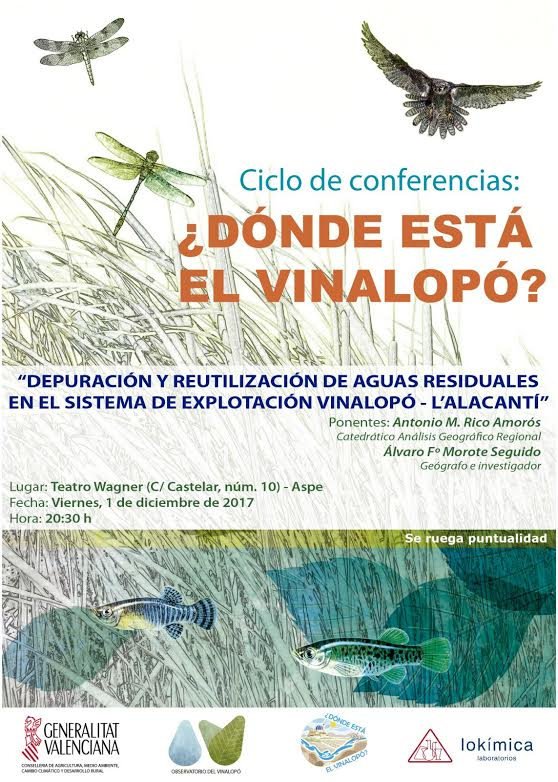 Charla sobre la  depuración y reutilización de aguas residuales, con OVi