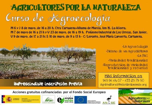 Cartel Curso de Agroecología de ANSE