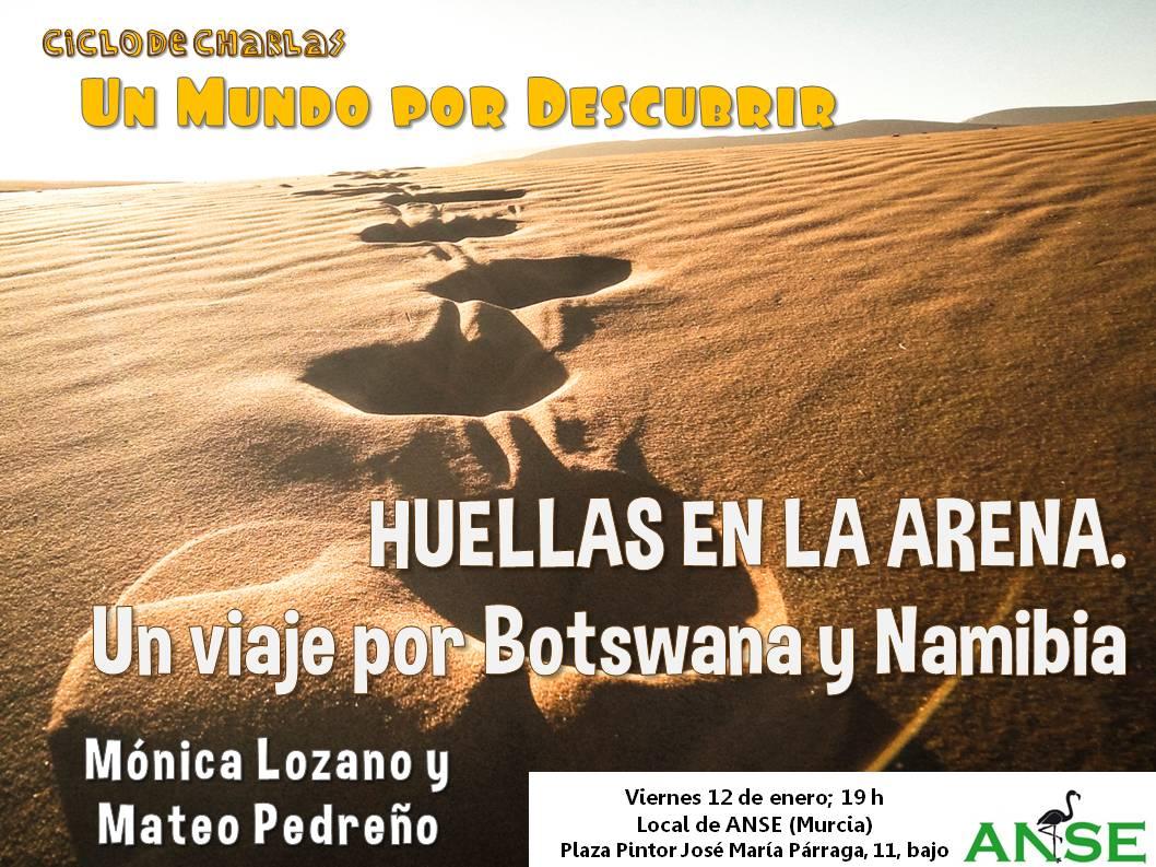 Charla sobre Bostwana y Namibia, con ANSE