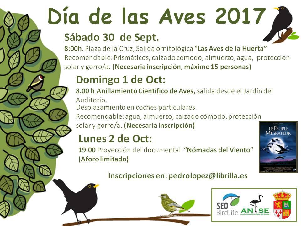 Las Aves de la Huerta en Librilla, con ANSE
