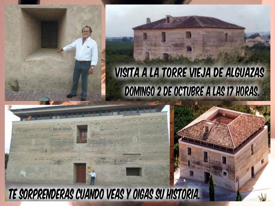 Visita a la Torre Vieja de Alguazas y su Huerta bimilenaria, con García del Toro.