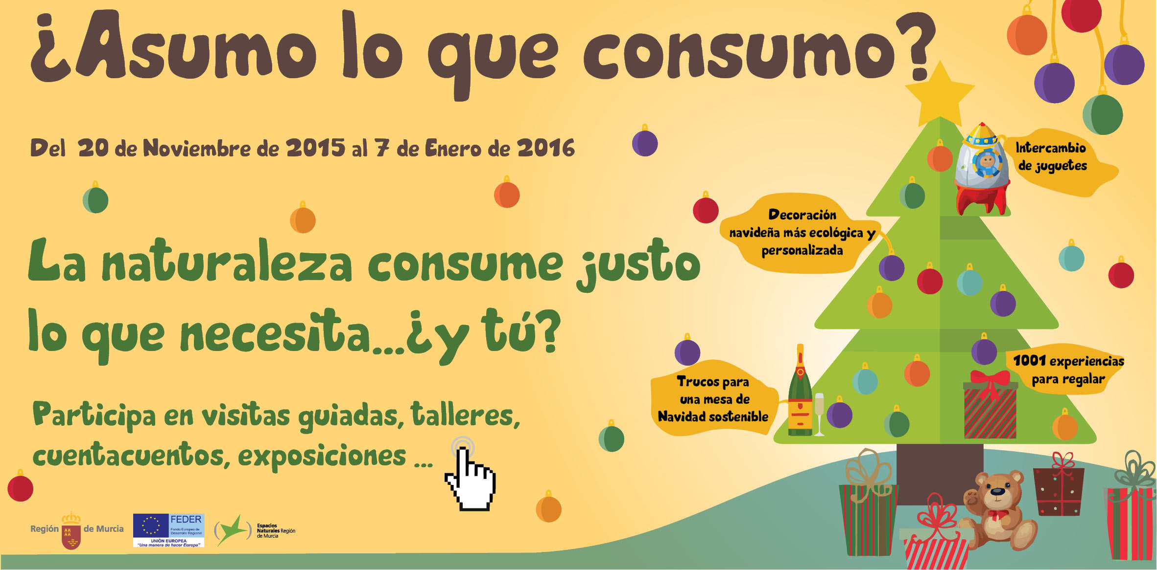Campaña 'Asumo lo que Consumo'.