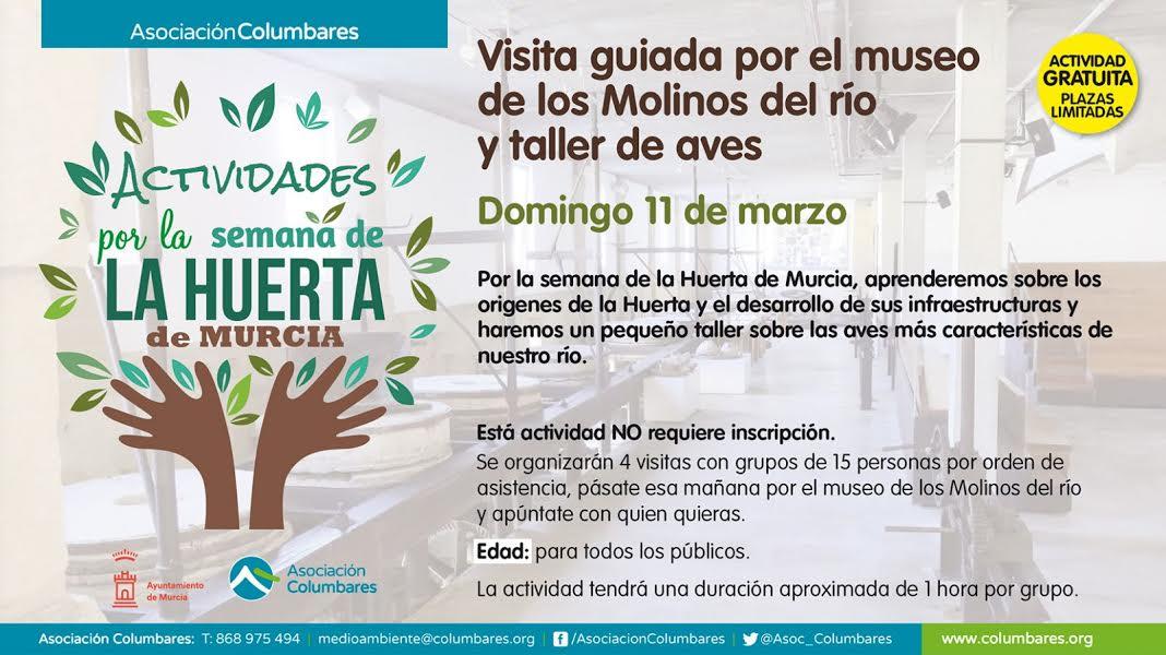 Visita guiada al Museo de Los Molinos del Río y Taller de las aves, con la Asociación Columbares