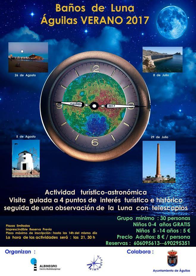 Programa de los baños de luna, con Astronotuya