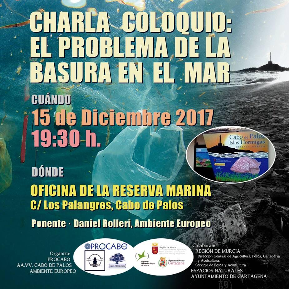 Charla-coloquio 'El problema de la basura en el mar', con Procabo