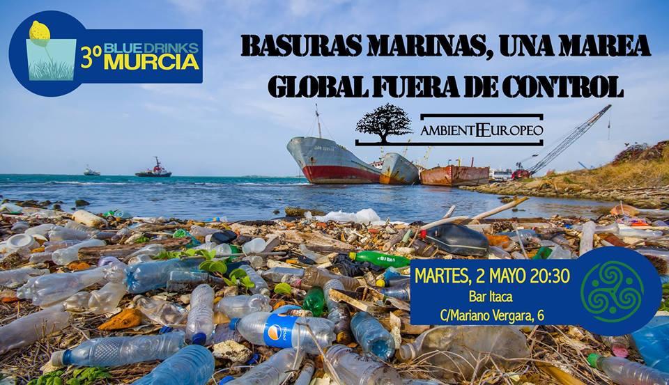 Charla sobre basuras marinas, con Blue Drinks Murcia