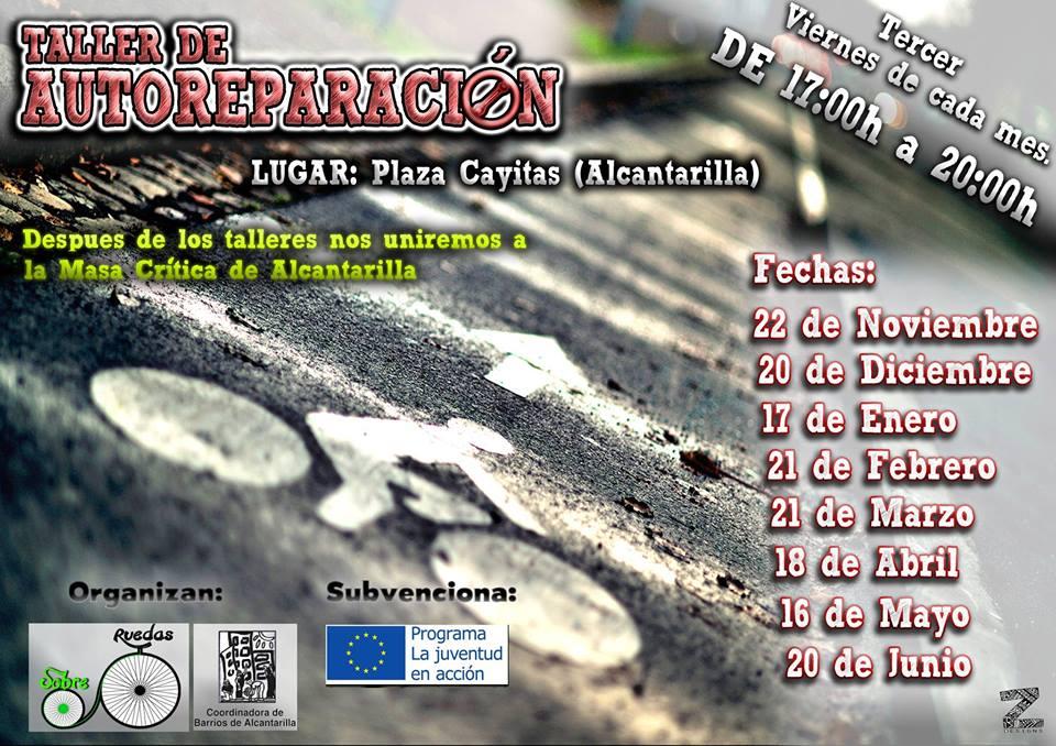 Taller de autorreparación de bicis en Alcantarilla