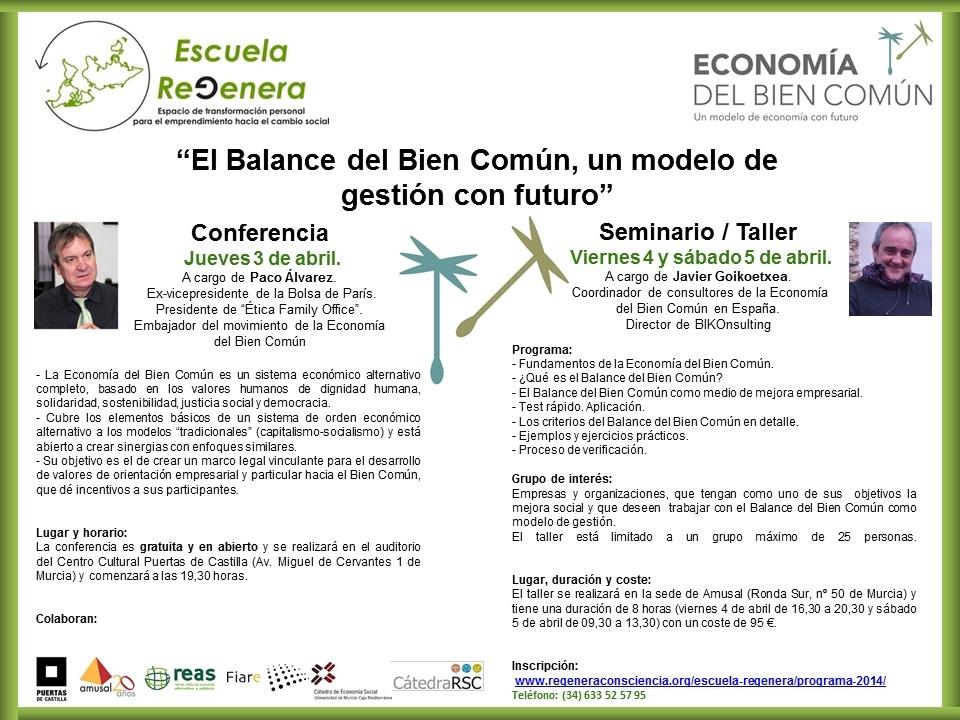 Conferencia sobre la Economía del Bien Común