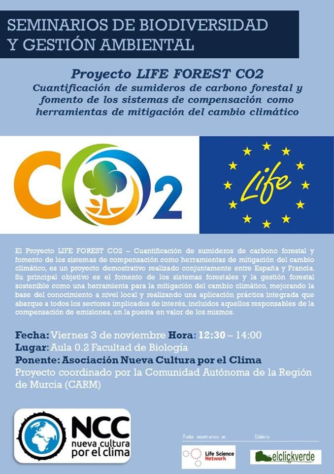 Proyecto LIFE Forest CO2, con la UMU