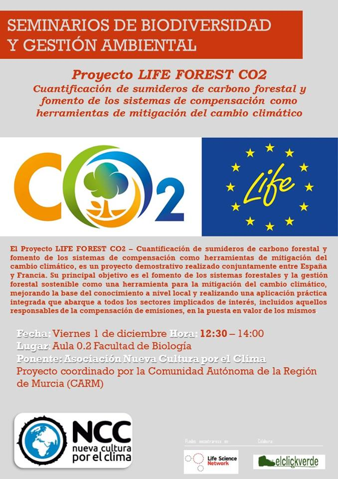 Proyecto LIFE Forest CO2 (2), con la UMU