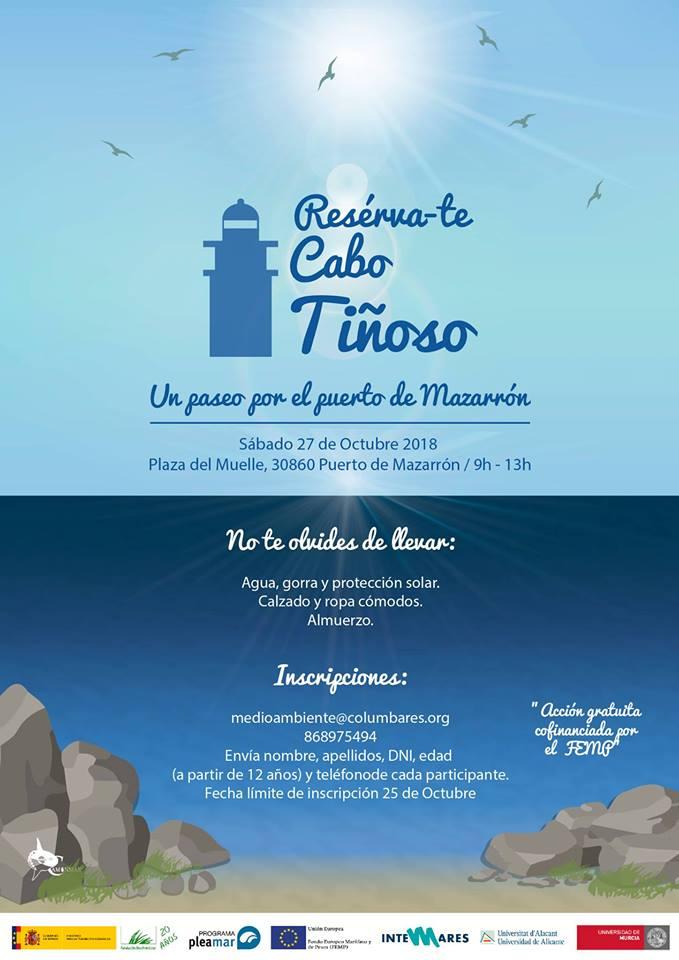 Itinerario terrestre por el Puerto de de Mazarrón, con el Departamento de Ciencias del Mar y Biología Aplicada UA