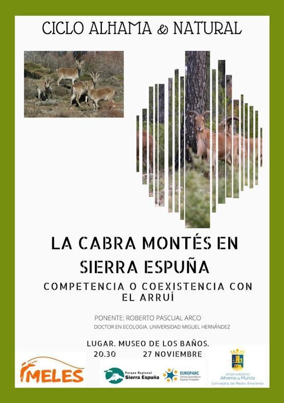 Charla sobre la cabra montés en Sierra Espuña, con Meles