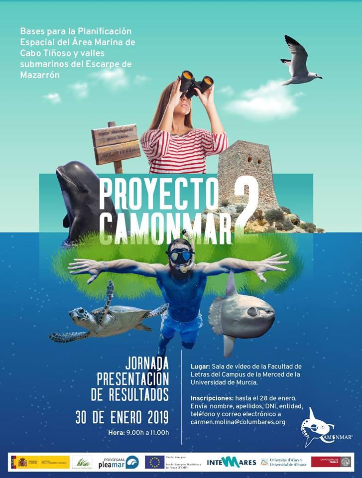 Jornada de presentación de resultados Camonmar2, con el Departamento de Ciencias del Mar y Biología Aplicada UA