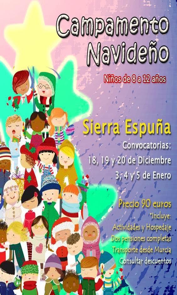 Campamento de Navidad en Sierra Espuña 2