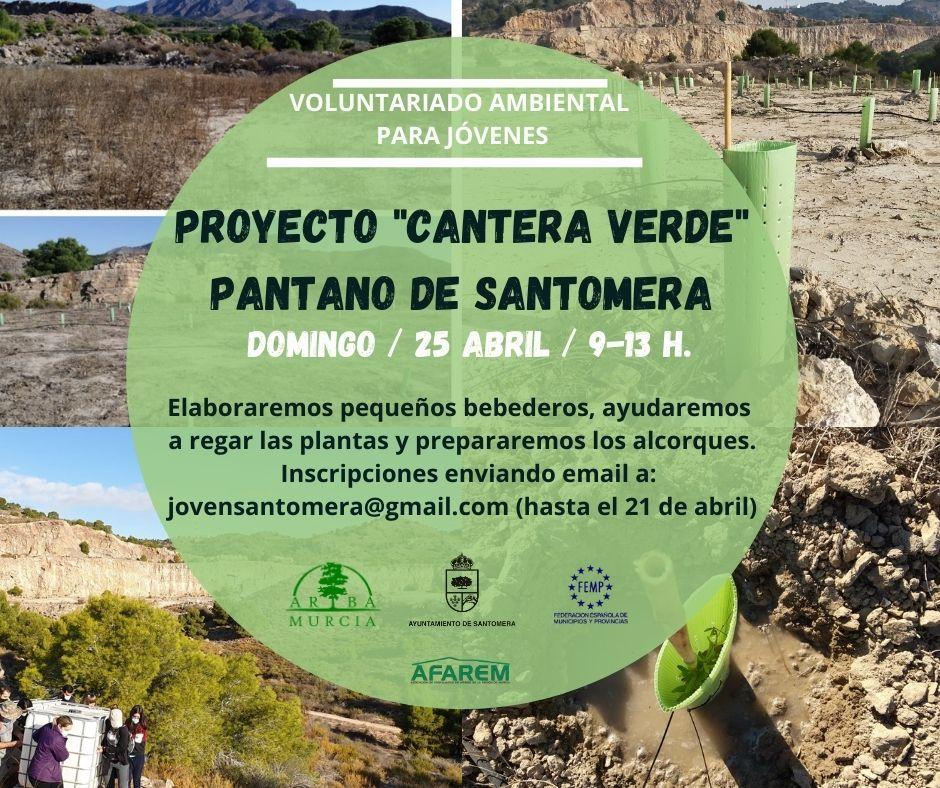 Proyecto 'Cantera Verde' en Santomera, con el Ayto. de Santomera