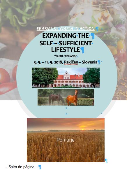 Voluntariado 'Expandir el estilo de vida autosuficiente' , con all2help