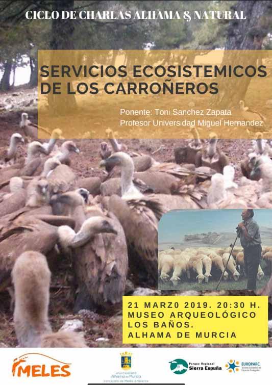 Servicios ecosistémicos de los carroñeros, con Meles